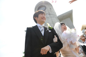 湯沢ロイヤルウェディング・フラワーシャワー6