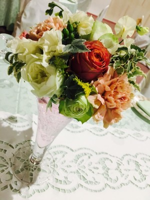 ブライダルフェア 装花